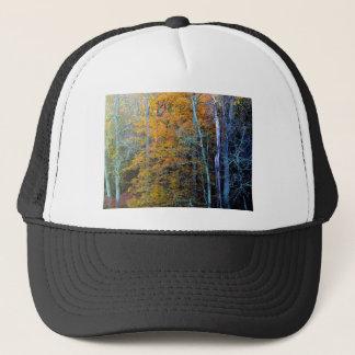 TREELINE IN AUTUMN TRUCKER HAT
