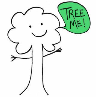 TreeMe stand Standing Photo Sculpture