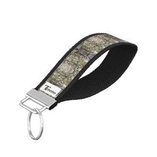 Treemo Gear Mossy Pine Camo Grosgrain Keychain