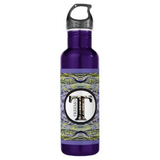 Treemo Radioactive Abstract Nature Art Bottle