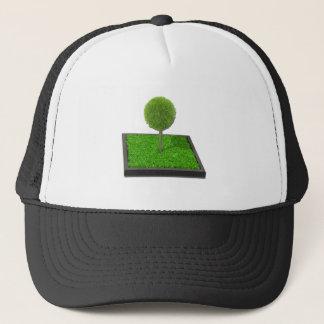 TreeonRaisedGarden1112611 Trucker Hat