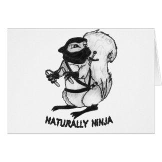 Treerat Ninja Tarjeta De Felicitación