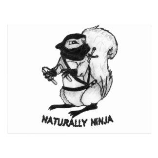 Treerat Ninja Tarjeta Postal