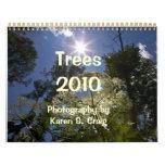 Trees 2010 Calendar