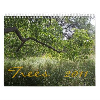 Trees, 2011 calendars