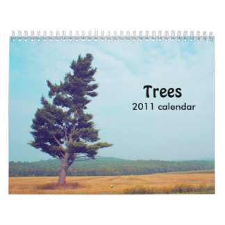Trees 2011 calendar