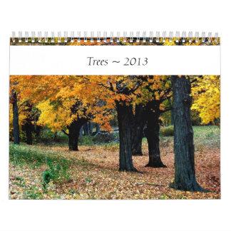 Trees 2013 Calendar