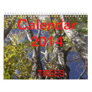 Trees 2014 Calendar