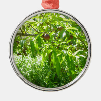 Trees #6 metal ornament