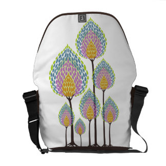 Trees - Abstract - 4 Courier Bag