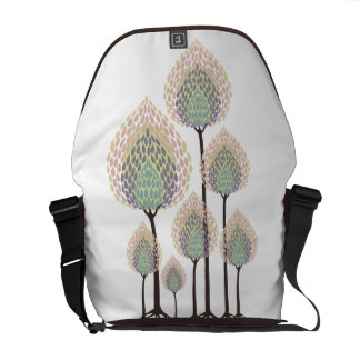 Trees - Abstract - 6 Courier Bag