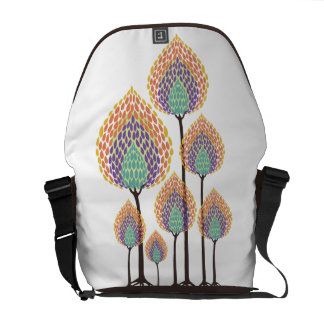 Trees - Abstract - 7 Messenger Bags