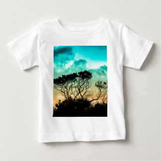 trees aet design colors fashion baby T-Shirt