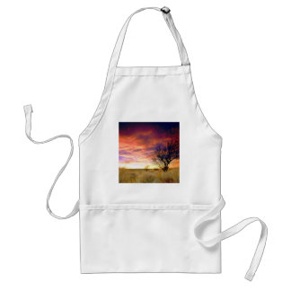 Trees Almond Tree Antelope Valley Adult Apron