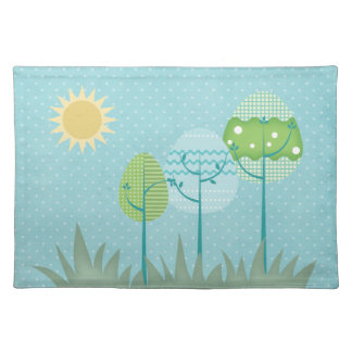 Trees American MoJo Placemat Cloth Place Mat