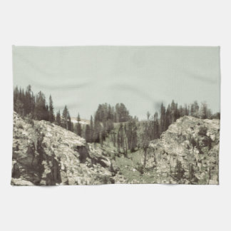 Trees and Hills Kitchen Towels
