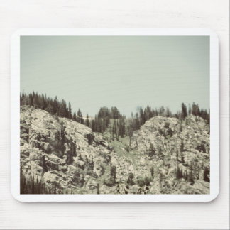 Trees and Hills Mouse Pad