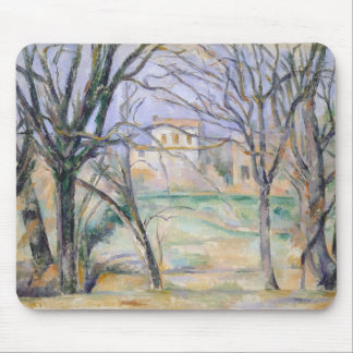 Trees and houses, 1885-86 mouse pad