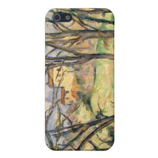 Trees and Houses Near the Jas de Bouffan -Cézanne iPhone 5 Cover