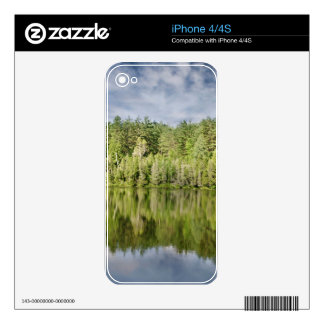 Trees and Lake iPhone 4 Decal