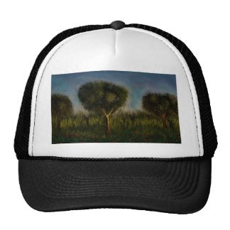 Trees and Landscape by rafi talby Trucker Hat
