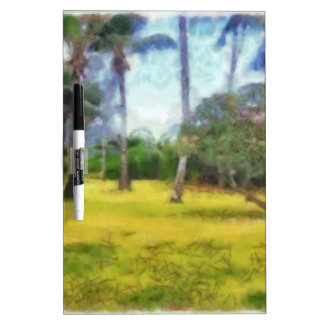 Trees and local greenery Dry-Erase board