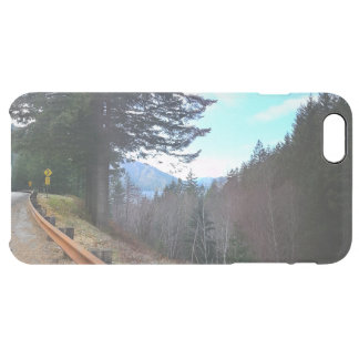 Trees and Mountains Olympic National Park Clear iPhone 6 Plus Case