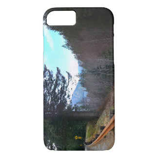 Trees and Mountains Olympic National Park iPhone 8/7 Case