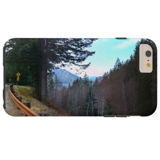 Trees and Mountains Olympic National Park Tough iPhone 6 Plus Case