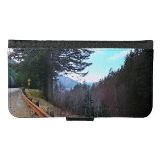 Trees and Mountains Olympic National Park Wallet Phone Case For Samsung Galaxy S6