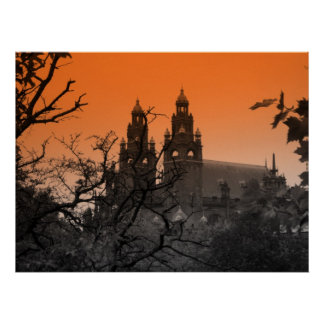 Trees and Spires Print