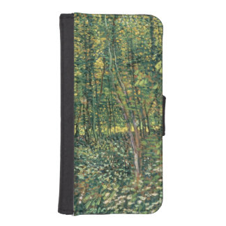 Trees and Undergrowth, 1887 2 iPhone 5 Wallet Cases