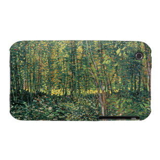 Trees and Undergrowth, 1887 iPhone 3 Cases