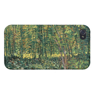 Trees and Undergrowth, 1887 iPhone 4 Cases