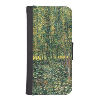 Trees and Undergrowth, 1887 iPhone 5 Wallet