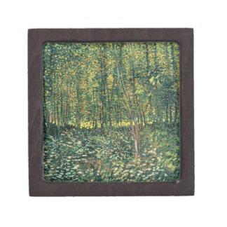 Trees and Undergrowth, 1887 Premium Jewelry Box