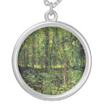Trees and Undergrowth by Vincent van Gogh Custom Jewelry
