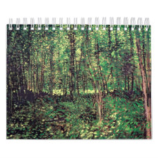 Trees and Undergrowth Calendar