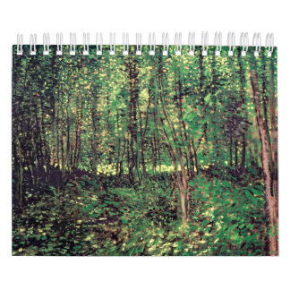 Trees and Undergrowth Calendar