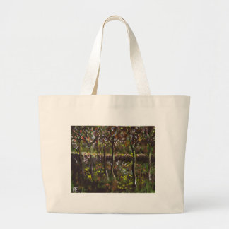 TREES AND UNDERGROWTH LARGE TOTE BAG