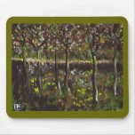 TREES AND UNDERGROWTH MOUSEPADS