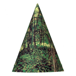Trees and Undergrowth Party Hat