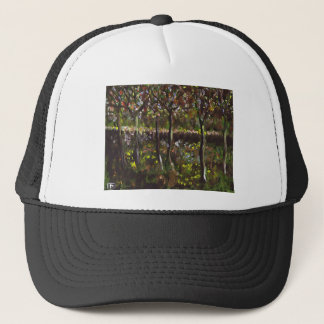 TREES AND UNDERGROWTH TRUCKER HAT