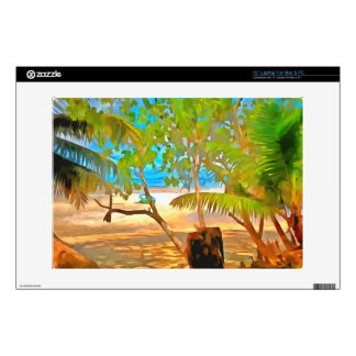 """Trees and water 13"""" laptop skin"""