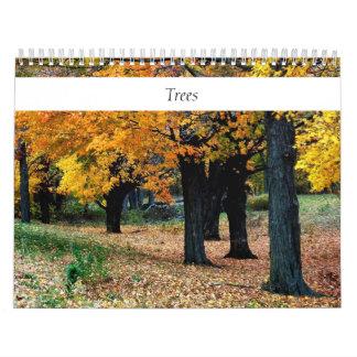 Trees Any Year Calendar
