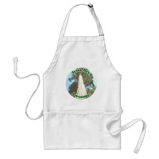 Trees are Awesome! Adult Apron
