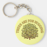 Trees Are For Hugging Keychain