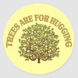 Trees Are For Hugging Stickers