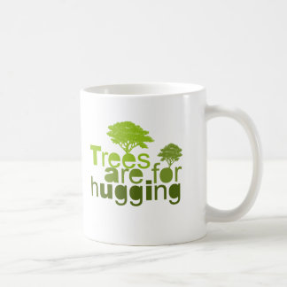 Trees are for hugging T-shirt / Earth Day T-shirt Classic White Coffee Mug