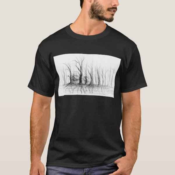 Trees are Watching You - T-Shirt